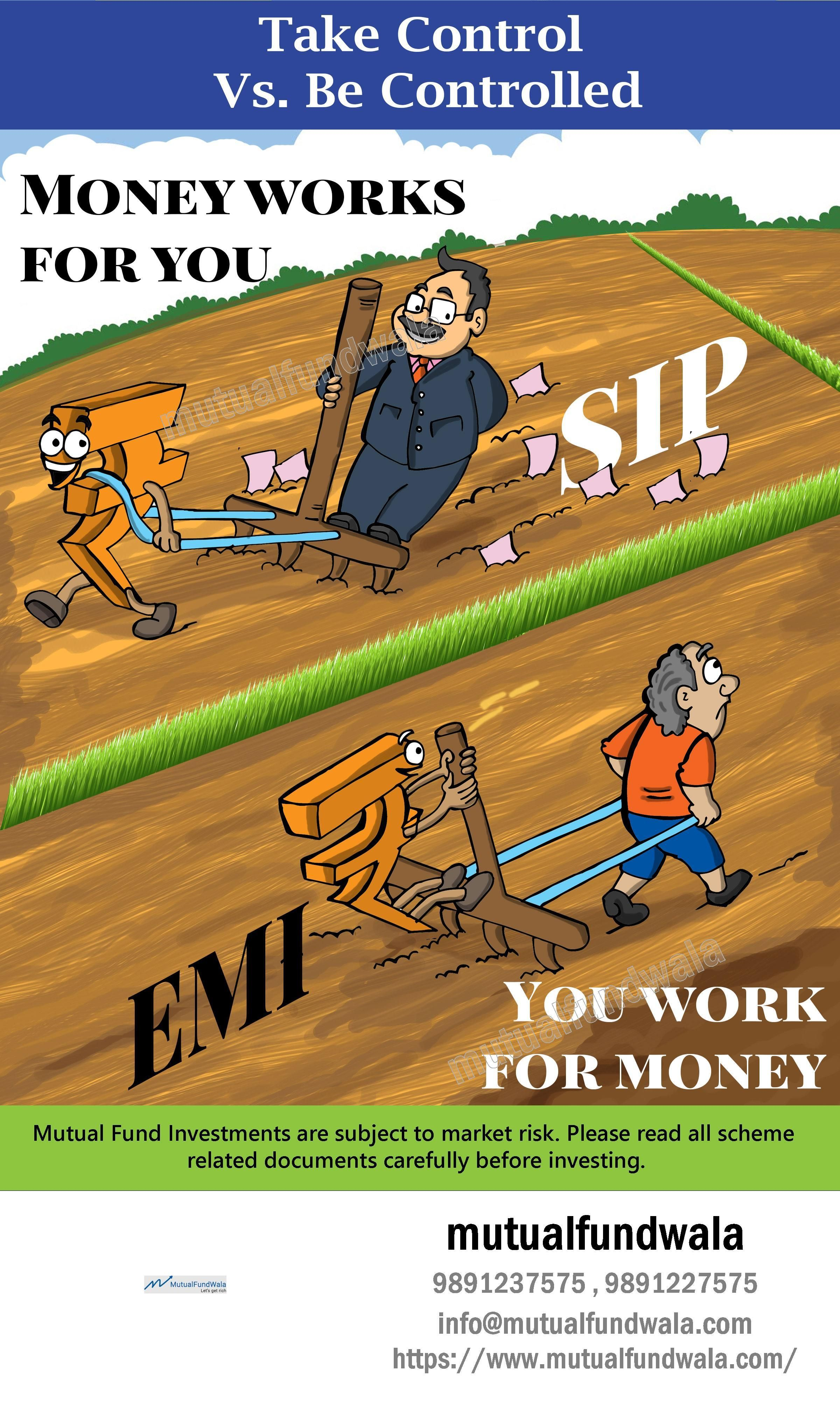 Start investing in SIP for better future. Mutual funds