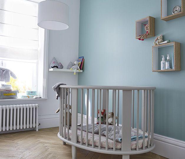 R ve de qui tude cette couleur fra che propice la for Peinture pour chambre enfant
