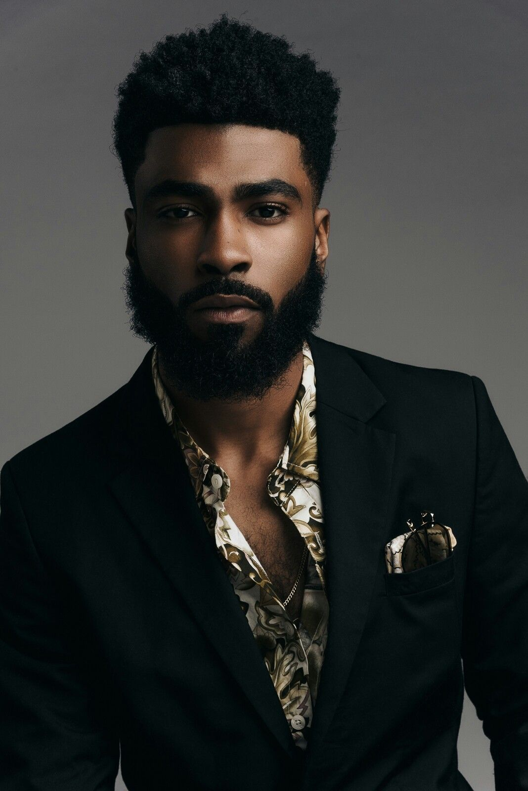 Fade haircuts for black men pin by briana avalos on photography  intense portraiture