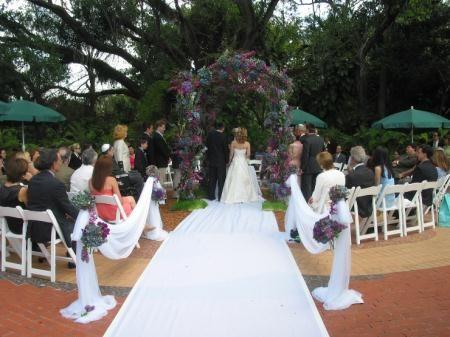 Patio Wedding South Florida S Cultural Arts Park Pinecrest