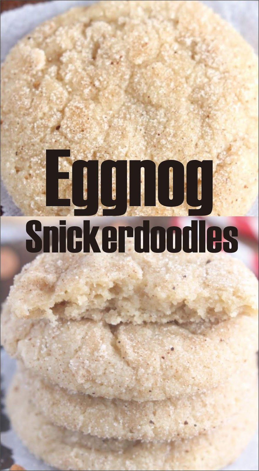 Eggnog Snickerdoodles Christmas Cookies Easy Kraft Recipes