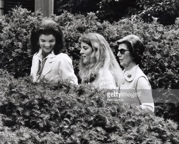Janet Auchincloss Funeral | ... Photo: Jackie Kennedy Onassis Caroline Kennedy and Janet Auchincloss