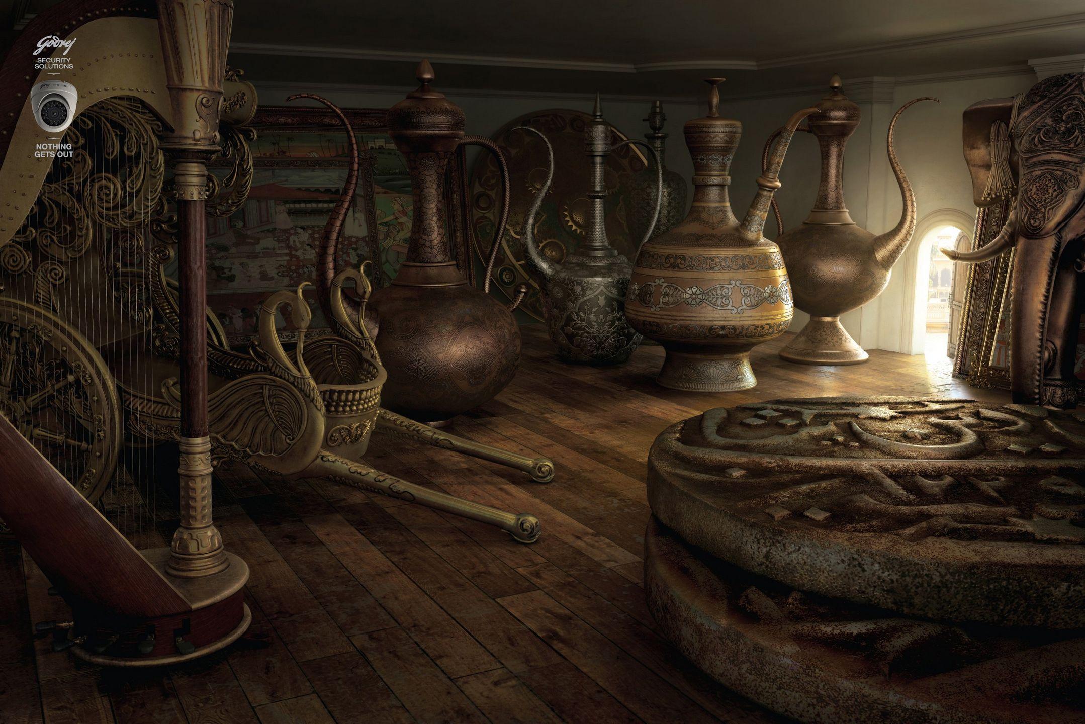godrej security solutions antique store