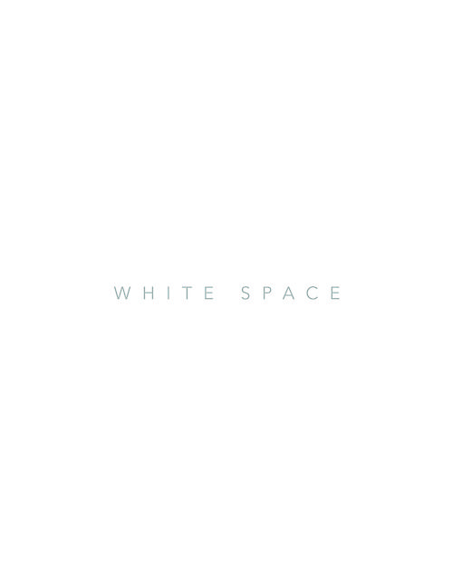 Principles of design: White Space  White space is always occurring in a design from the moment you open up a blank document, the design has begun with white space.