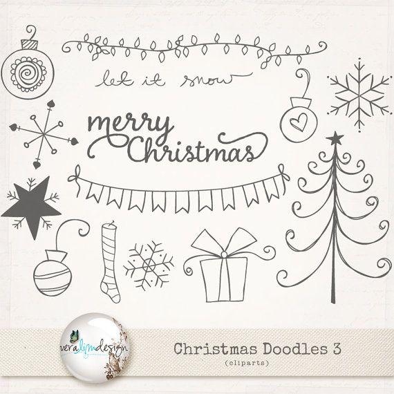 more christmas doodle inspiration cliparts christmas doodles 3 rh pinterest com Delightful Doodles Clip Art Oodles of Doodles Clip Art