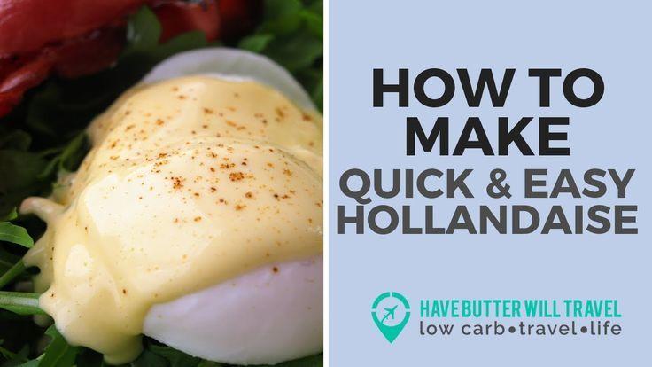 Easy Hollandaise sauce | Keto and low carb friendly   - Low Carb - #Carb #Easy #Friendly #Hollandaise #Keto #Sauce #hollandaisesauce