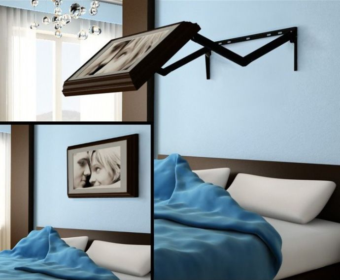 Lovely Keep Your Bedroom Beautiful With This Amazing Hidden TV