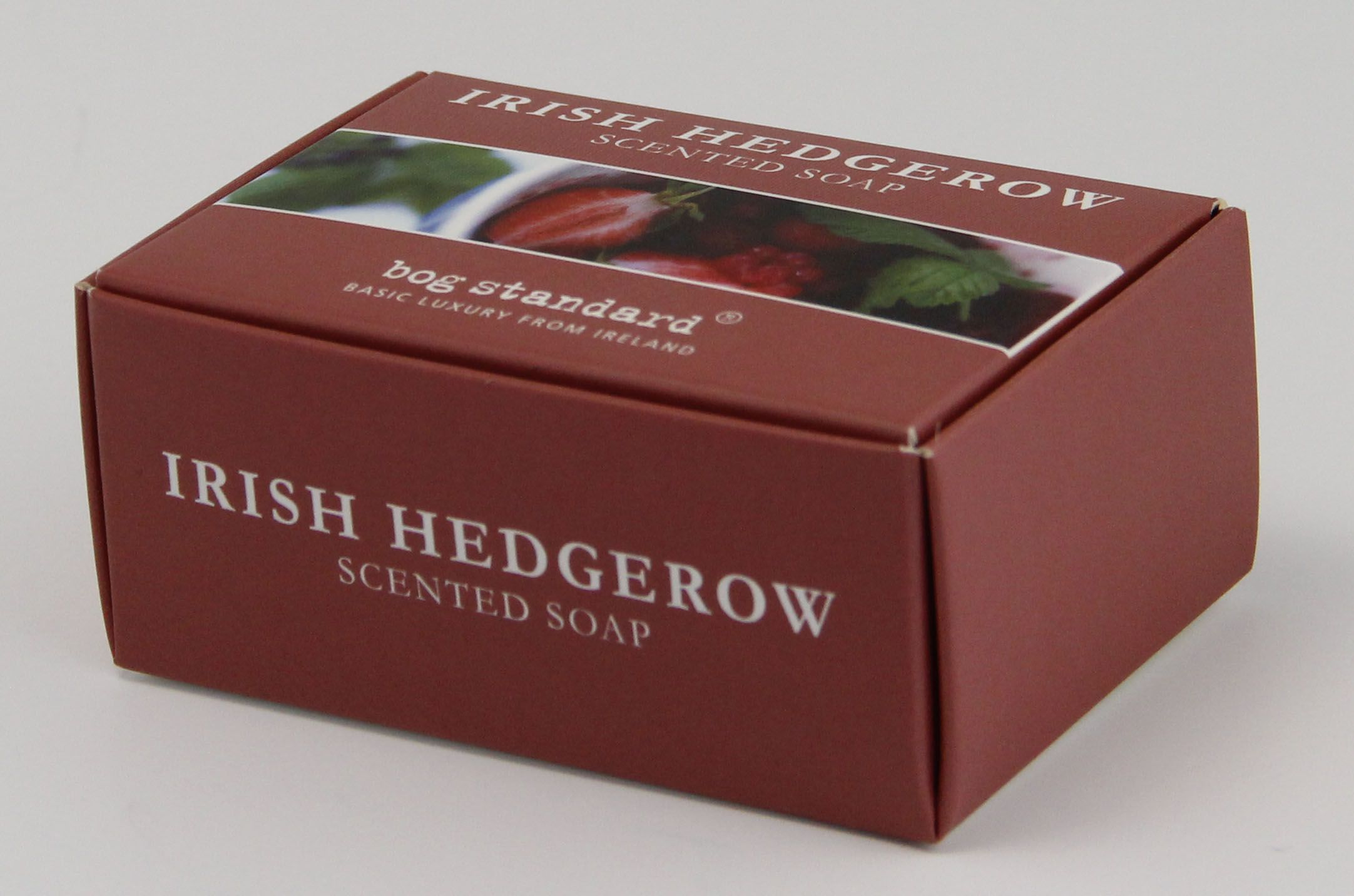 Soap box for Irish Hedgerow created by Priory Press Packaging www.priorypresspackaging.co.uk