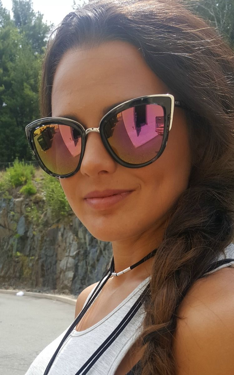 52b50a7fc1 Quay Australia My Girl Black Pink. Love these hot mirror sunglasses in pink  by Quay! Shop online now.