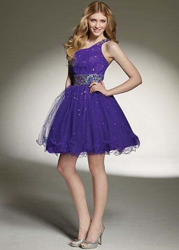 2bdbca7b5 Tu Vestido de 15 Años  Vestidos de 15 Años Cortos Color VIoleta