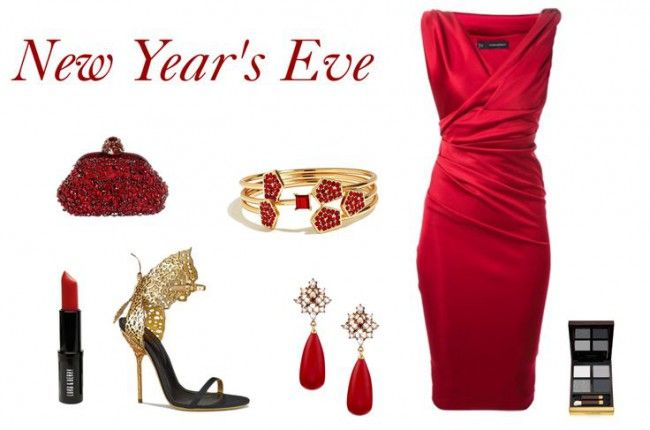 3f5e4c1763dd 7 red new year eve outfits | Evening outfits | New years eve outfits ...