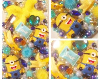 KAWAII iPHONE 6 decoden phone case Minions Despicable Me