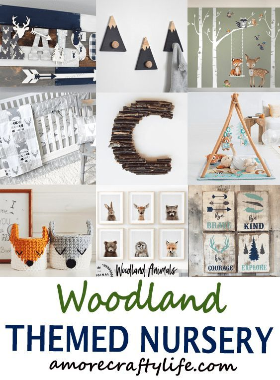 Nursery Themes Archives - A More Crafty Life