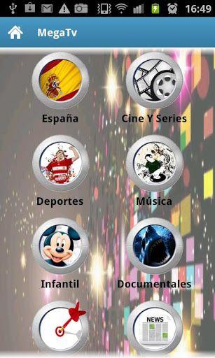 Aplicaciones gratuitas para ver TV desde tu celular: Mega Tv