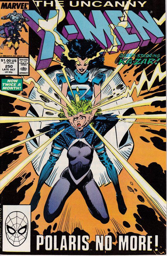 Uncanny X Men 250 October 1989 Marvel Comics Grade Vf Nm Etsy X Men Comic Books Comics