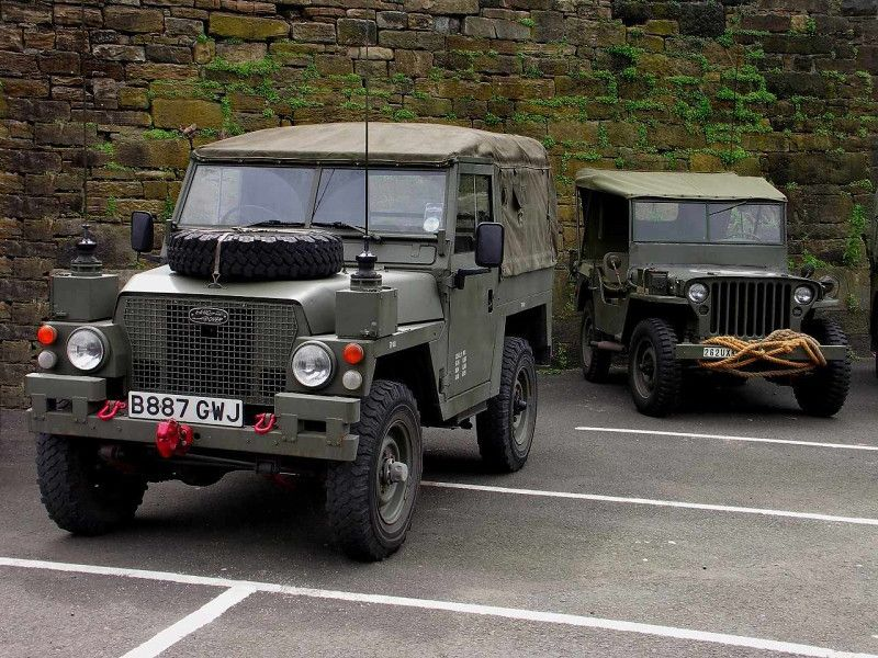 A Great Image Land rover defender, Jeep, Toyota trucks