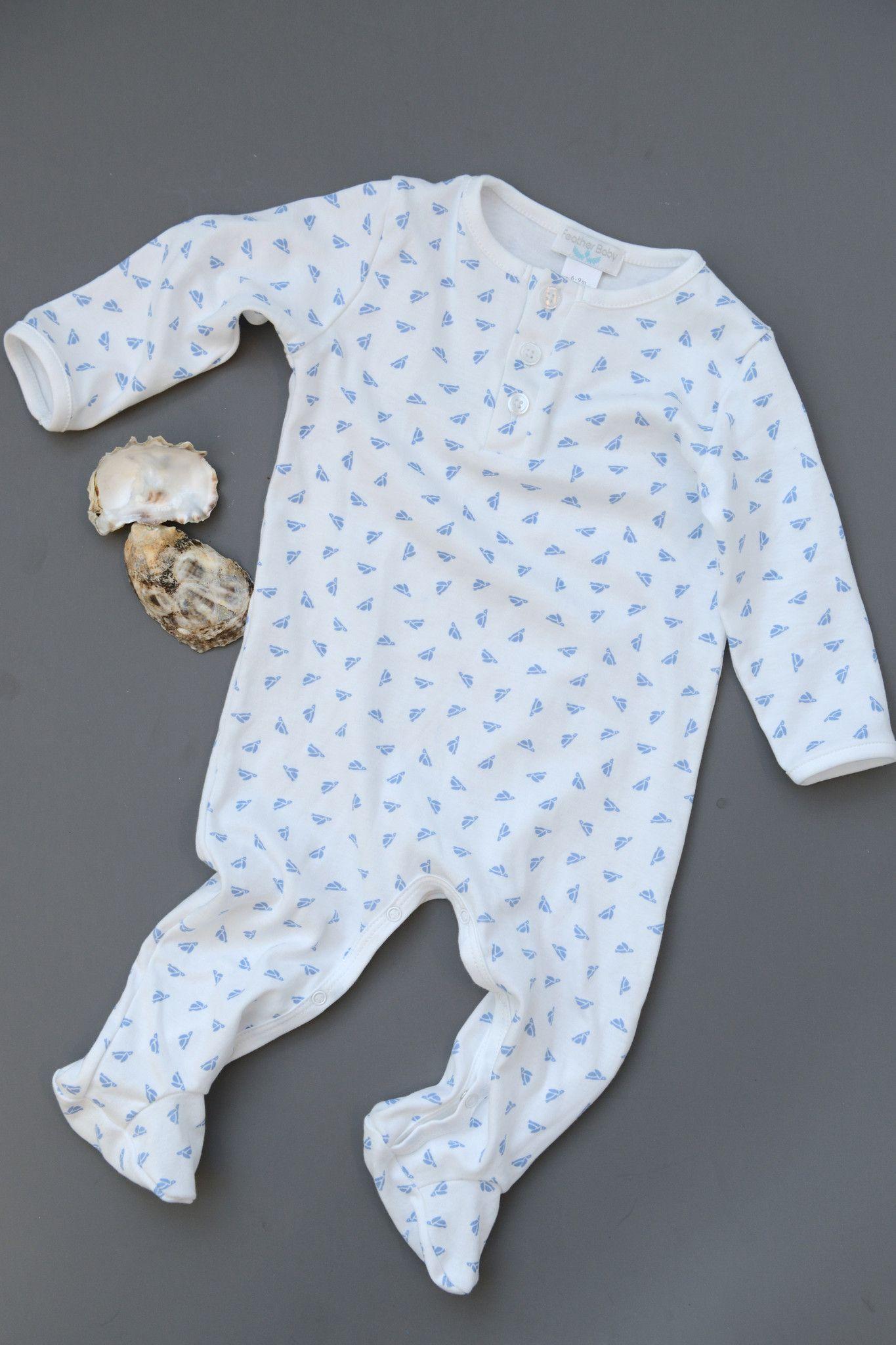 Baby Boy Kimono Onesies