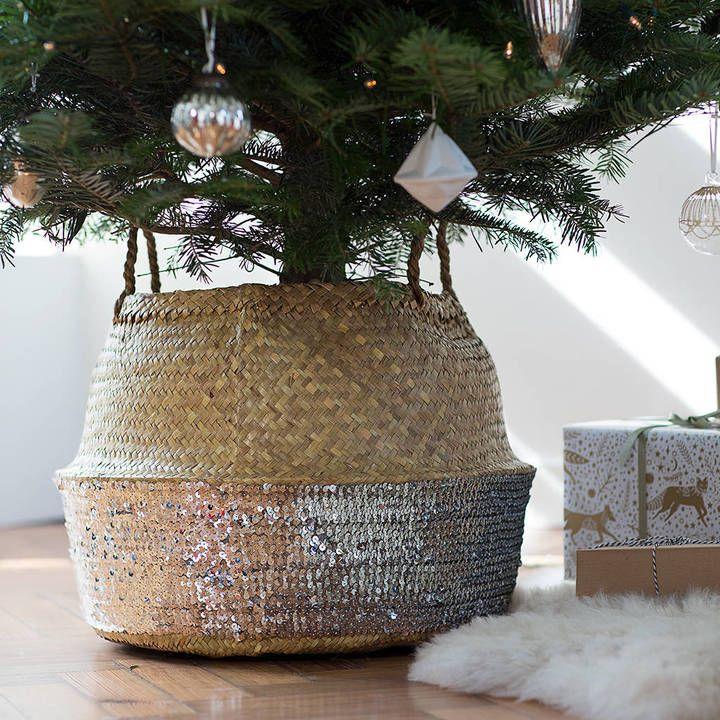 The Forest  Co Deep Seagrass Basket △ I n s i d e  O