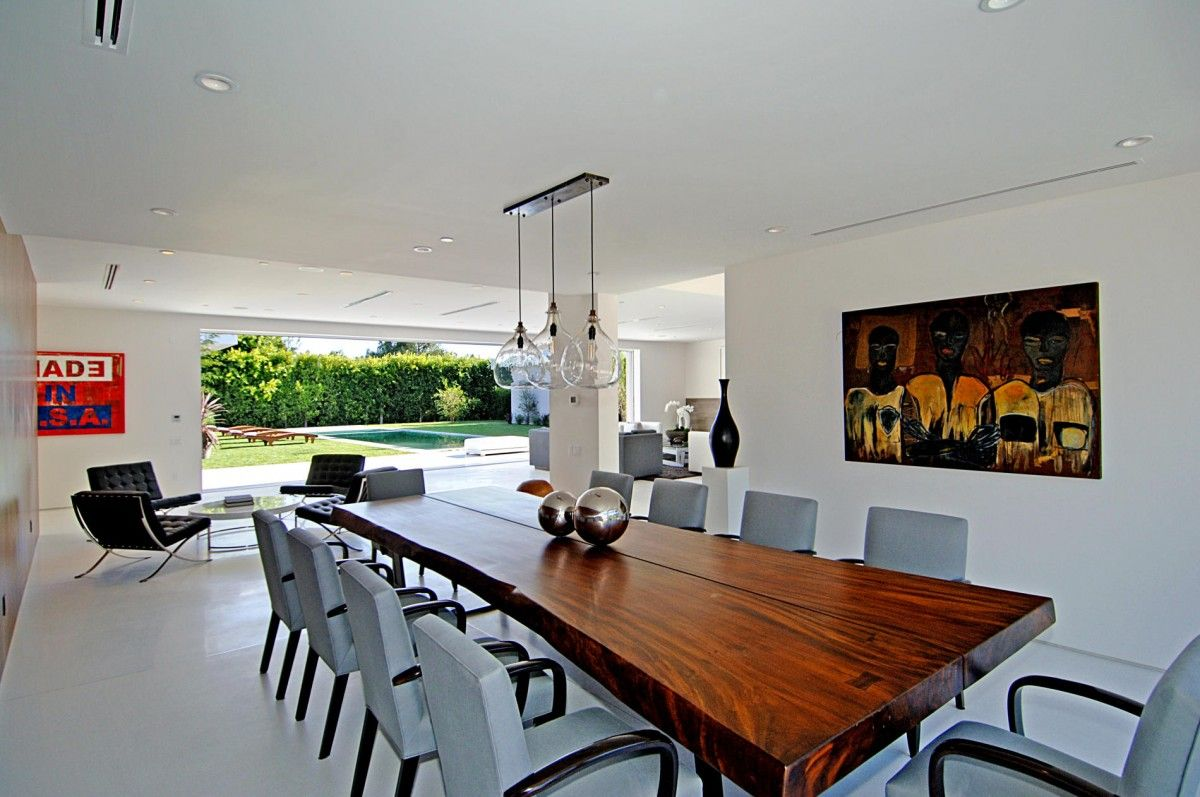 Modern Contemporary Dining Room Chandeliers Plans Modern Dining Room  Houses  Pinterest  Modern Room And Pendant