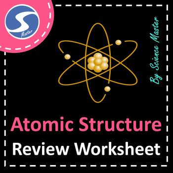 Atoms  Atomic Structure Worksheet  Critical Thinking Worksheets