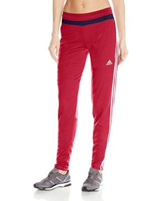 047f4c922b852 adidas Performance Women's Tiro 15 Training Pants, Power Red, Small ...