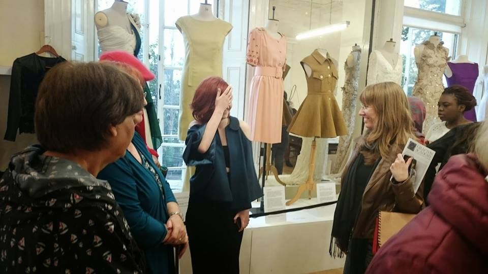 talking fashion at Grafton Academy Culture Night 2014