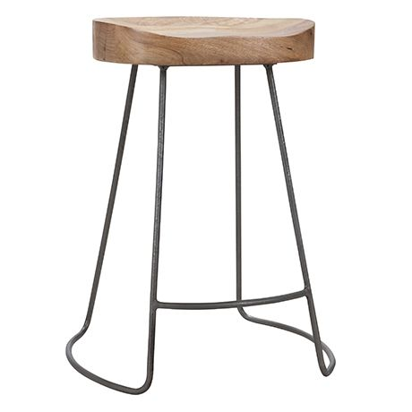 Tractor Stool 60cm   Freedom Furniture and Homewares ...