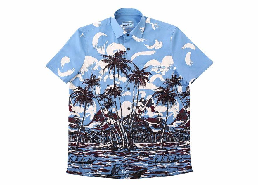 d08a48e9edd2 La chemise tropicale de Prada   Les chemises, Prada et Tropical