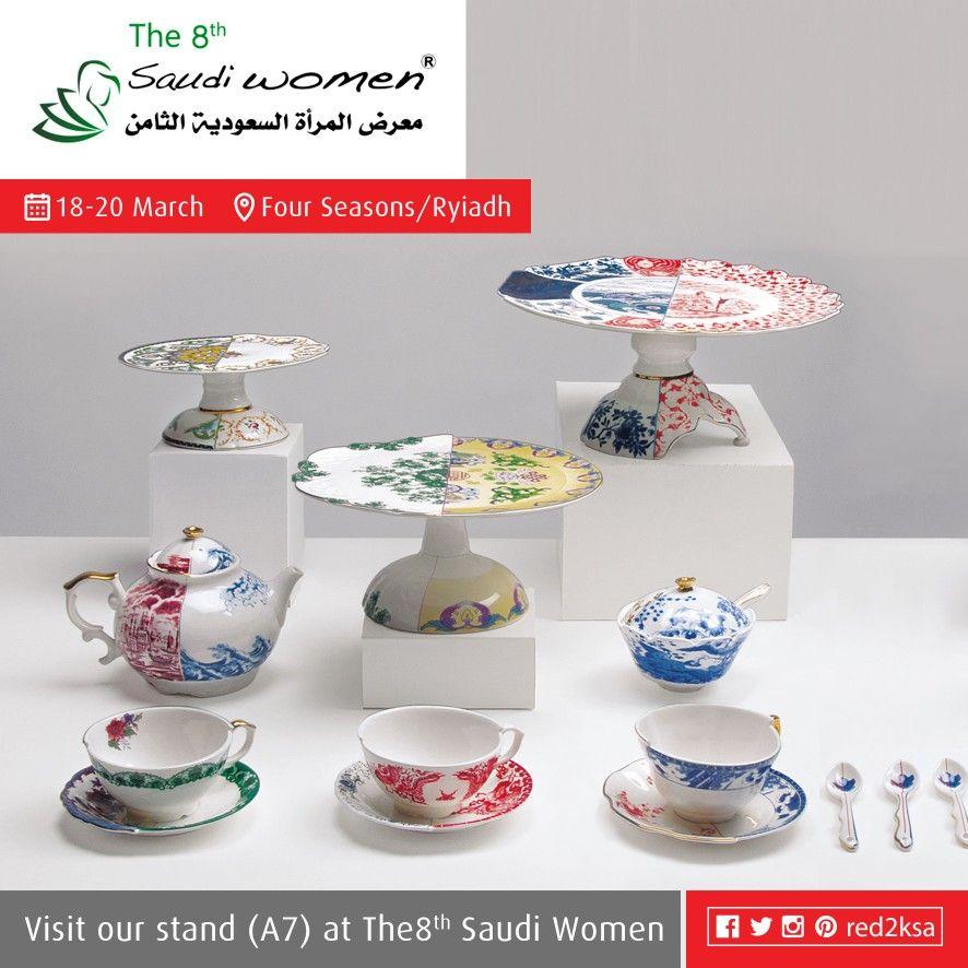 يسعدنا تواجدكم معنا غدآ في معرض المرأة السعودية الثامن المقام في الفورسيزون الرياض Saudiwomenshow Redsquare Tiered Cakes Tiered Cake Stand Cake Stand