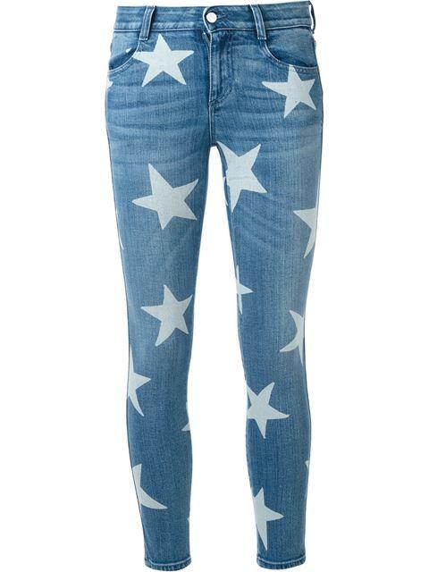 Stella Mccartney Star Skinny Jeans Star Jeans Stella Mccartney