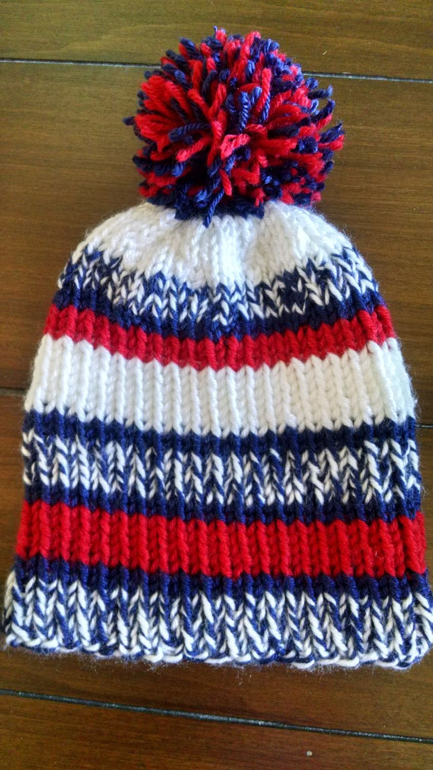 33924de54dd Knitting pattern for hats inspired by the NFL sidelines hat All NFL teams  by Belledria on Etsy