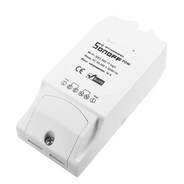 SONOFF® POW 16A 3500W DIY WIFI Wireless Long Distance APP