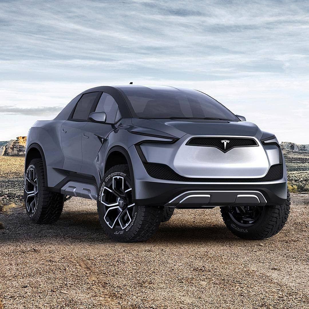 Produkthunter Tesla Pickup Concept By Emrehusmen Follow Produkt Hunter For More Tag A Friend Who Would Lik Tesla Pickup Tesla Pickup Truck Tesla Car