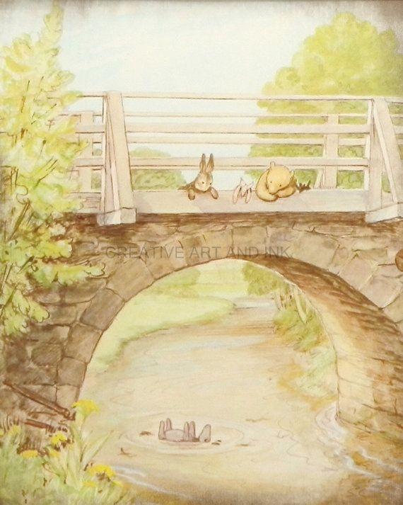 Classic Winnie The Pooh, Pooh Wall Art, Pooh Art Prints, Girls ...