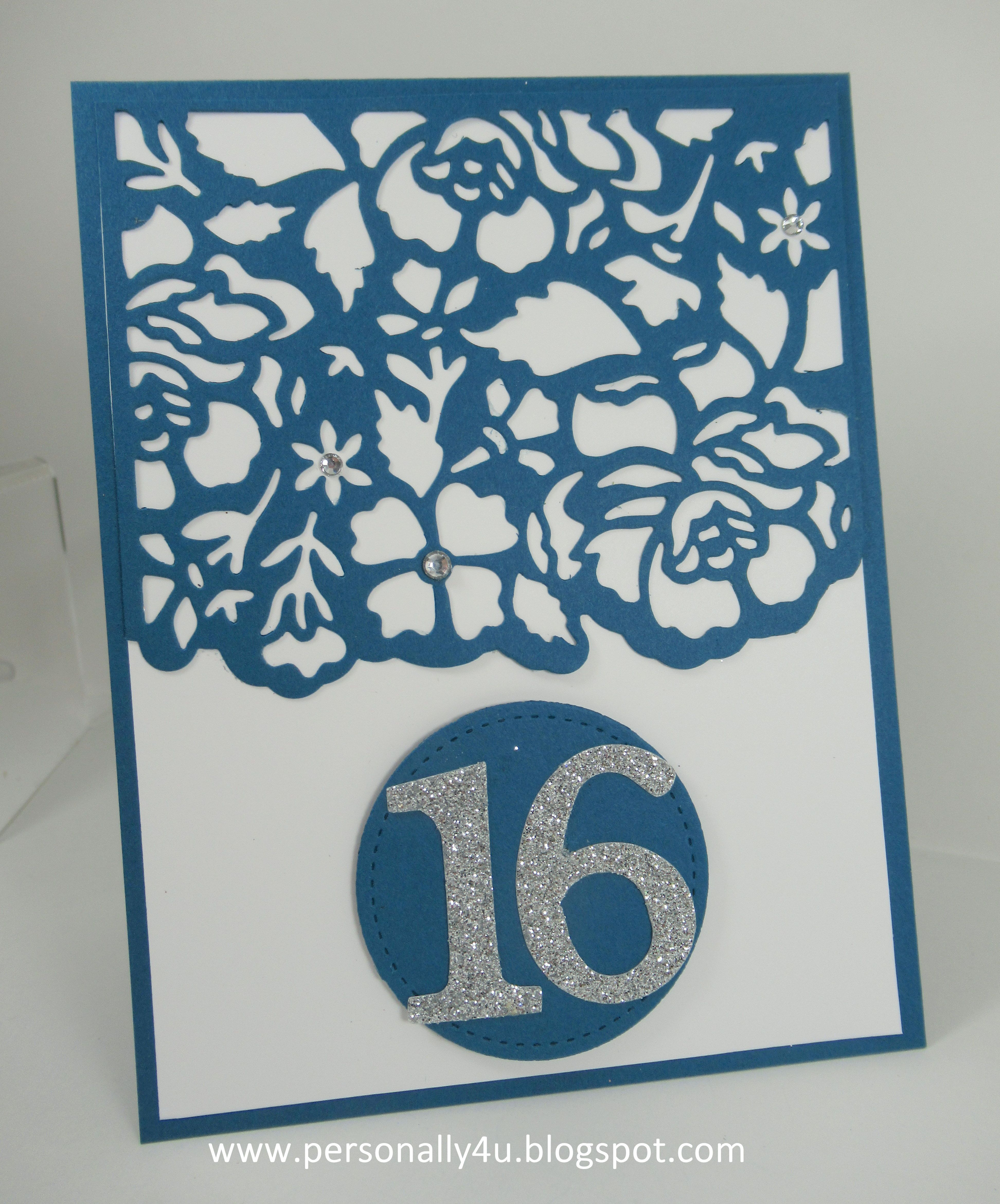Sweet 16 Birthday Card Cards cards cards Pinterest