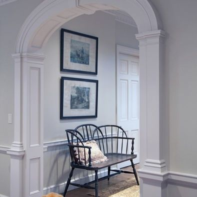 Archway trim arched doorway trim molding for the home for Decorative archway mouldings