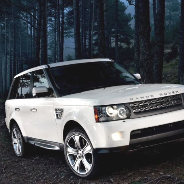 Yup, This Will Be Mine One Day! White Range Rover