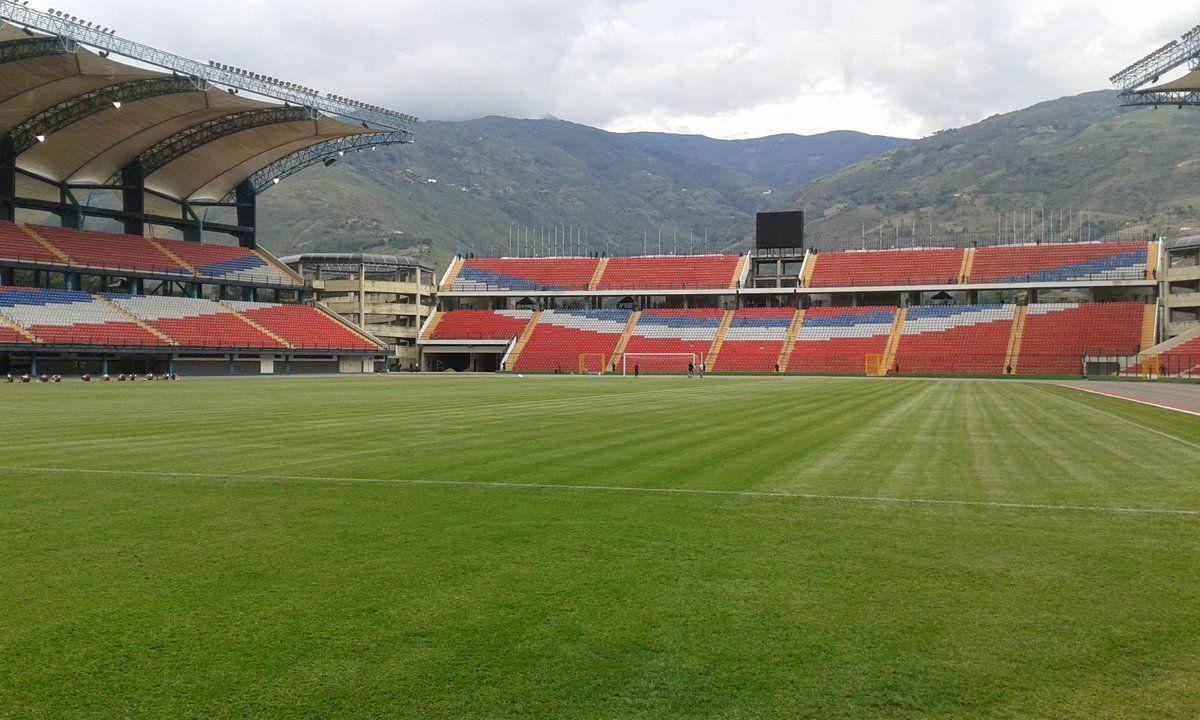 Estadio Metropolitano de Mérida está listo para recibir partido de la Vinotinto https://t.co/lxCofMqNDC #Venezuela