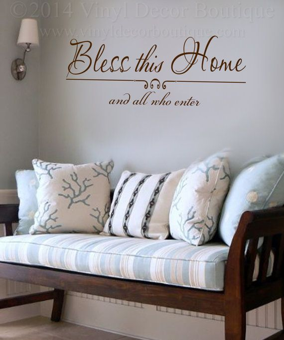 Bless This Home ♥ ♥ ♥ ♥ ♥ ♥ ♥ ♥ ♥ ♥ ♥ ♥ ♥ ♥ ♥ ♥ ♥ ♥ ♥ ♥    PLEASE READ: processing and shipping http://etsy.me/1f6DkCc    Sizes available are: