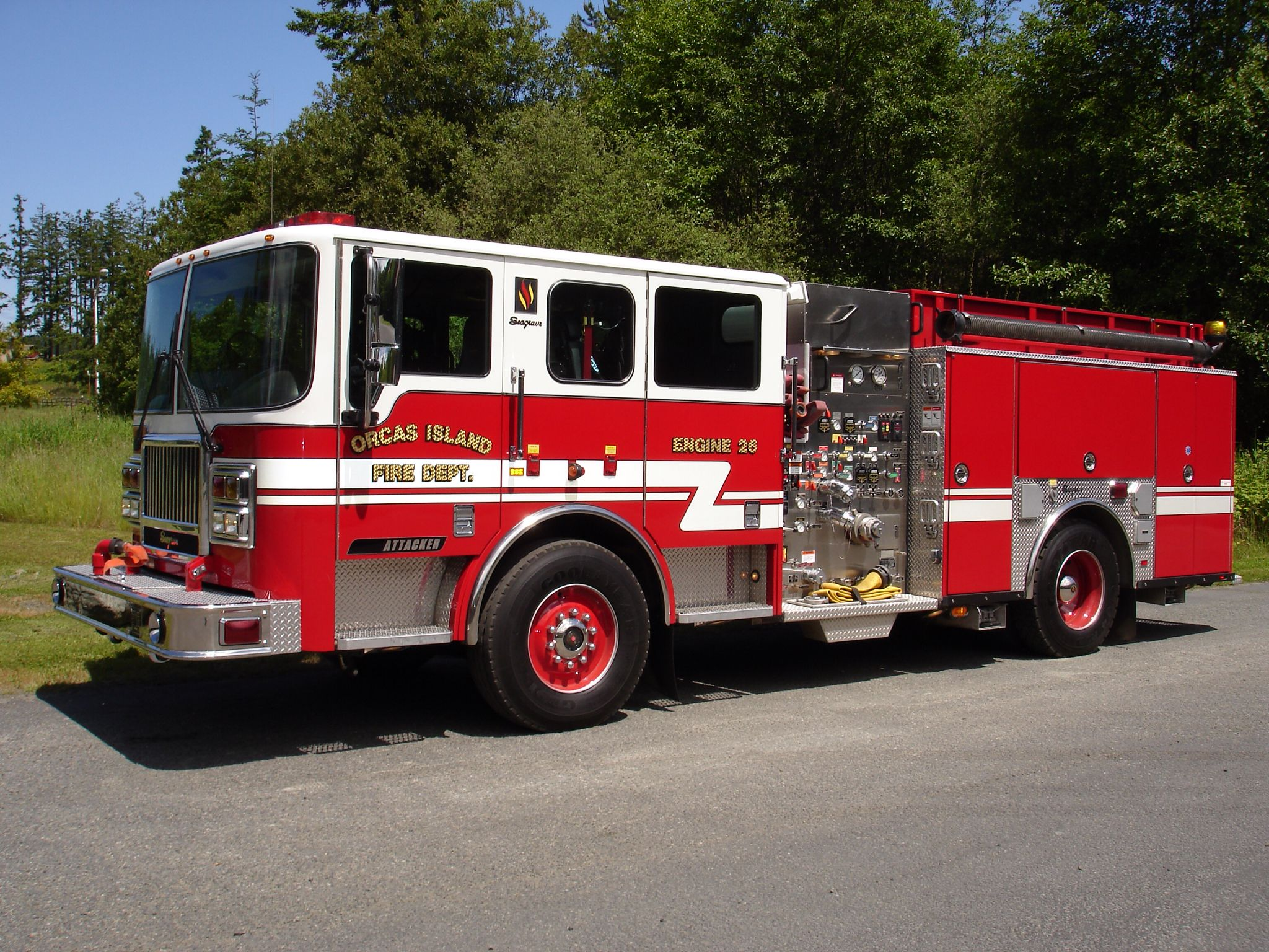 hight resolution of orcas island fire rescue engine 26 2004 seagrave attacker 1250 1000