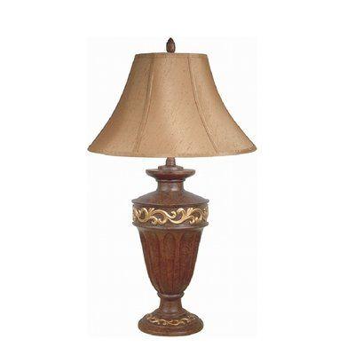 """Major-Q Antique Filigree 22"""" Table Lamp"""