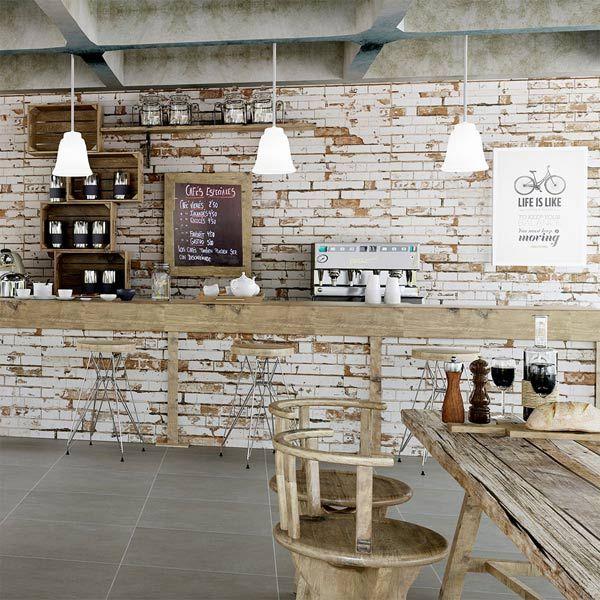 Brick Wall Effect In Kitchen For Look Wallsandfloors