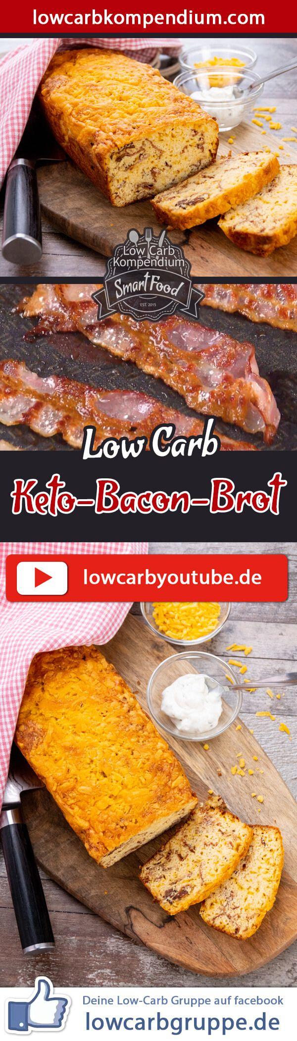 Keto-Bacon-Brot �� � Das würzige Keto & Low-Carb Brot Rezept