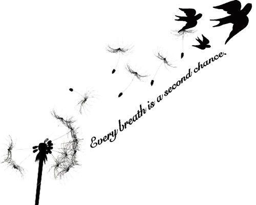 Dandelion Tattoo Meaning 13 Dandelion Tattoo Just Breathe Tattoo Dandelion Bird Tattoos