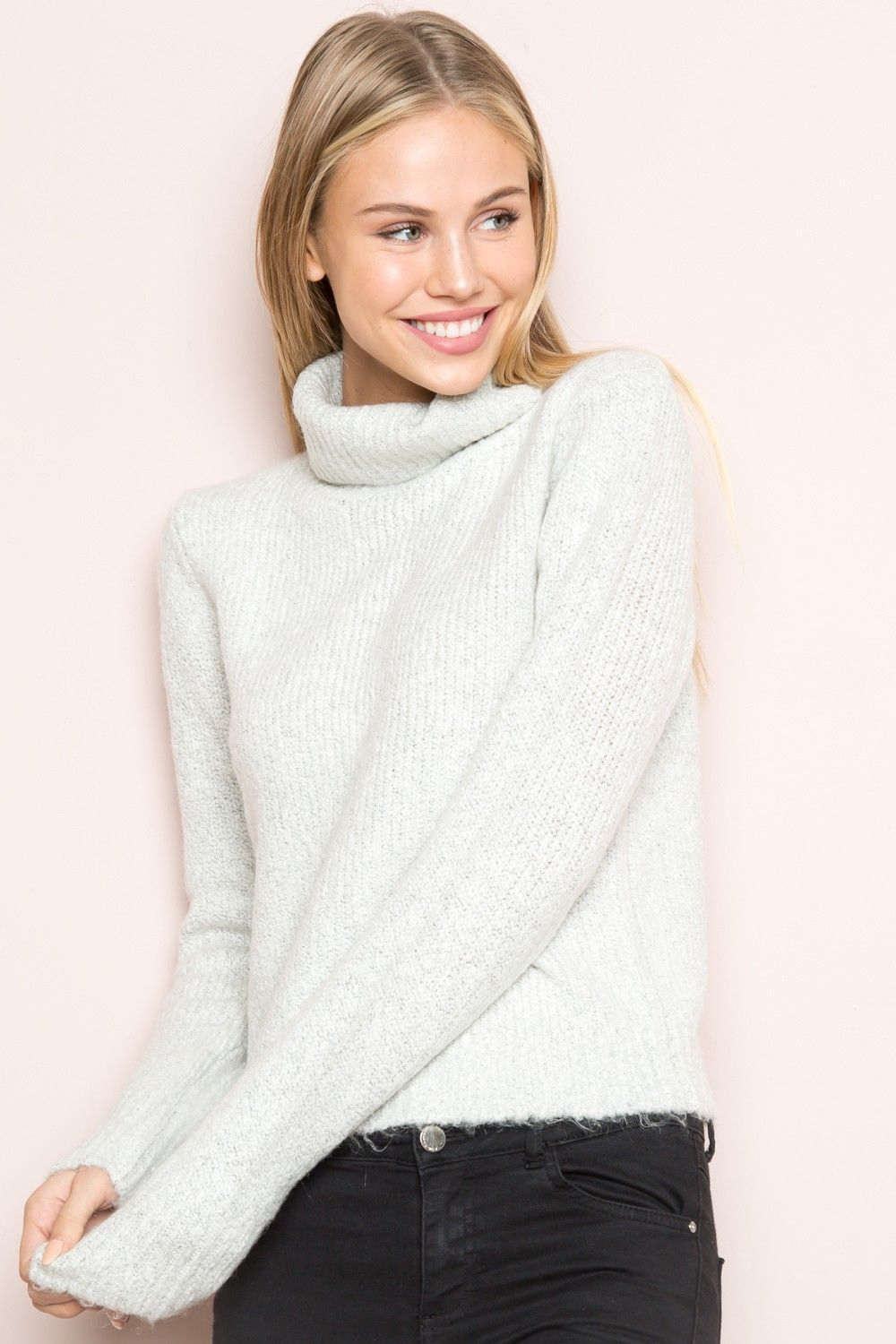 Brandy ♥ Melville | Cassia Turtleneck Sweater - Clothing | New ...