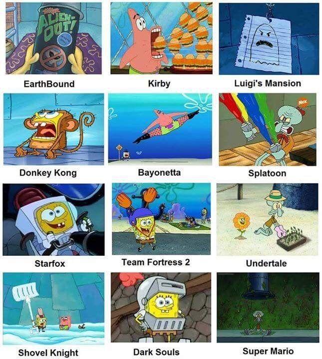 Spongebob Did It Spongebob Funny Spongebob Memes Funny Games