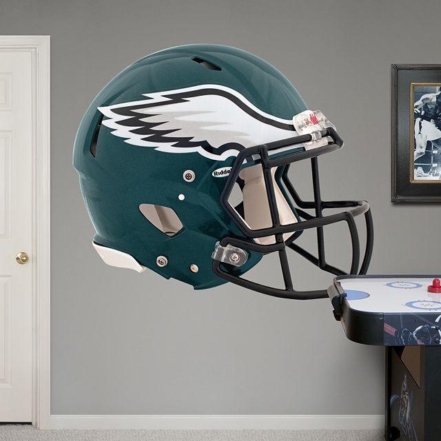 c3c47e8d9e9 Philadelphia Eagles Helmet REAL.BIG. Fathead – Peel   Stick Wall Graphic