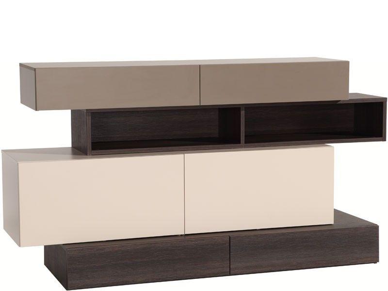 Buffet design de salle à manger 2 portes et 4 tiroirs de la - salle a manger design moderne