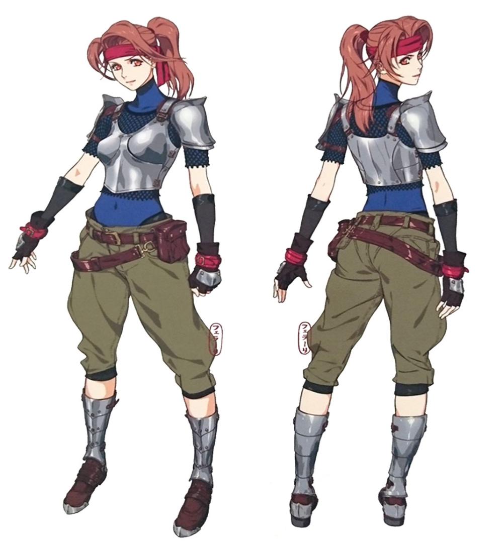 Jessie Concept Art Final Fantasy Vii Remake Art Gallery