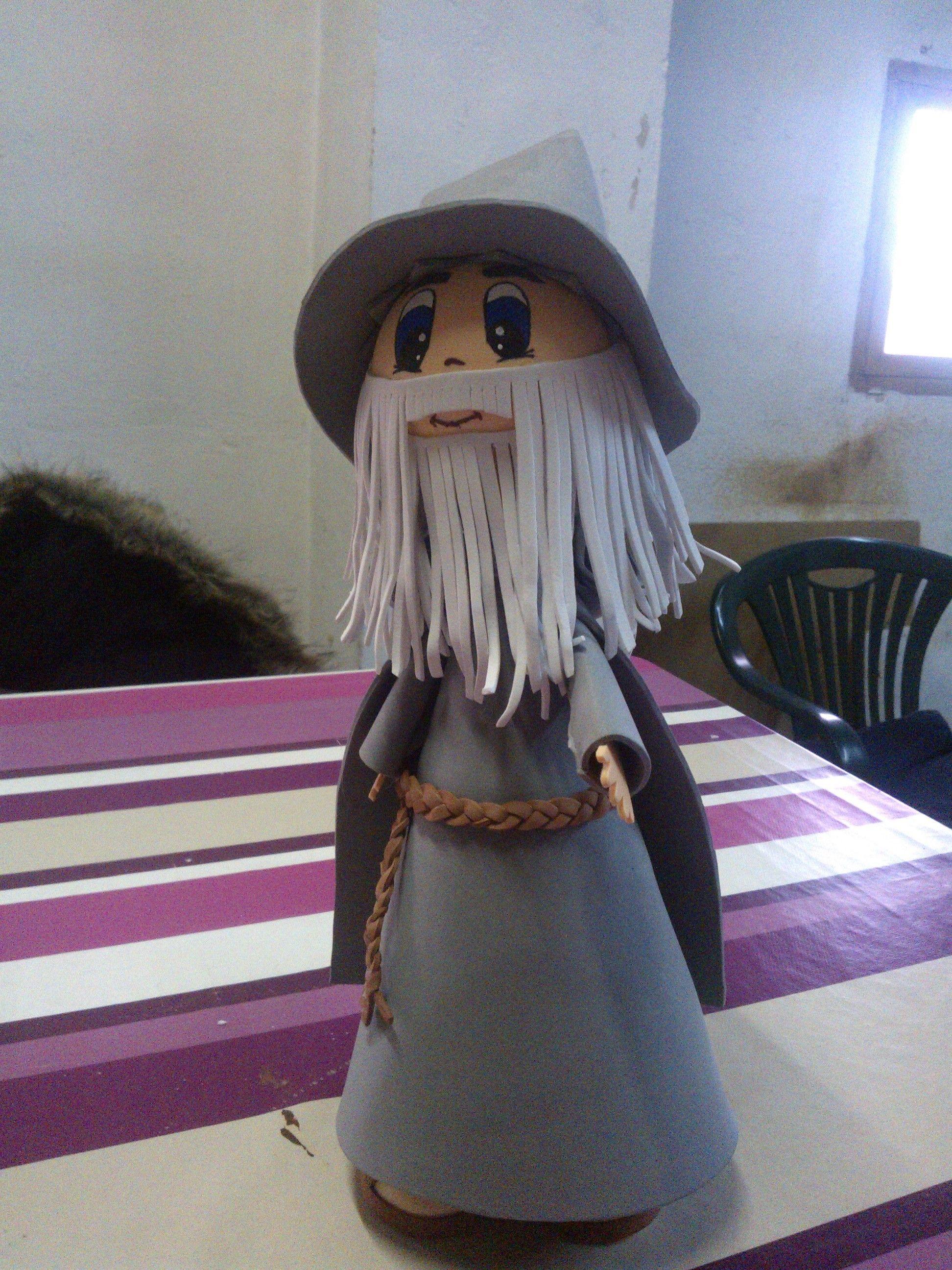 gandalf (el señor de los anillos)   mis fofuchas   Pinterest   El ...